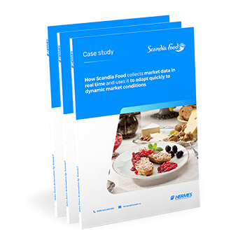 Scandia Foods, more agile with HERMES SFA