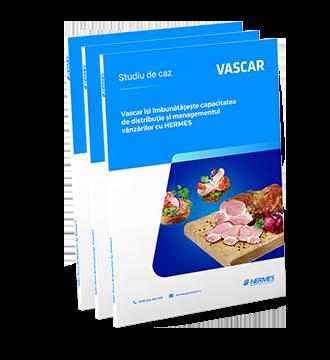 Vascar își îmbunătățește capacitatea de distribuție și managementul vânzărilor cu HERMES